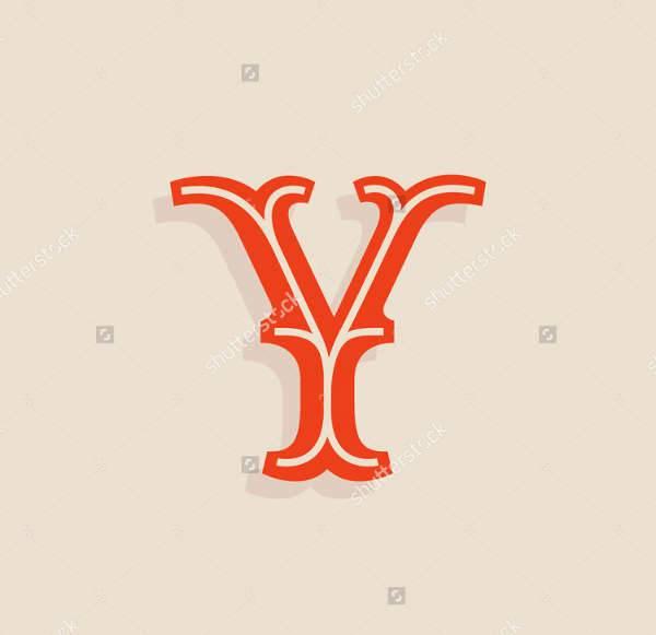 Vintage Typography Letter Logo