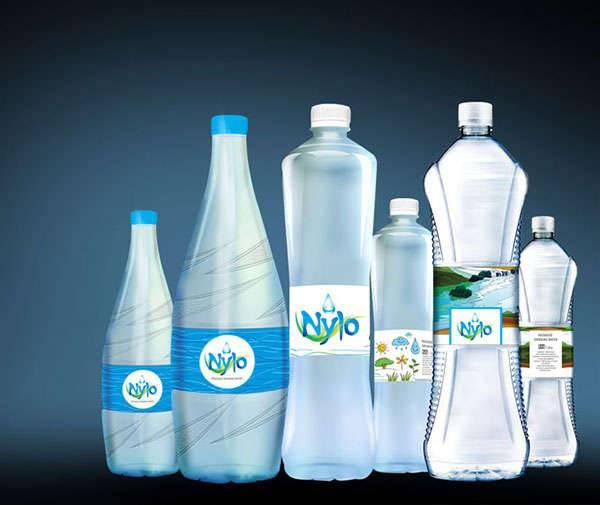 Water Packaging Label