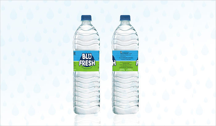 water packaging label1