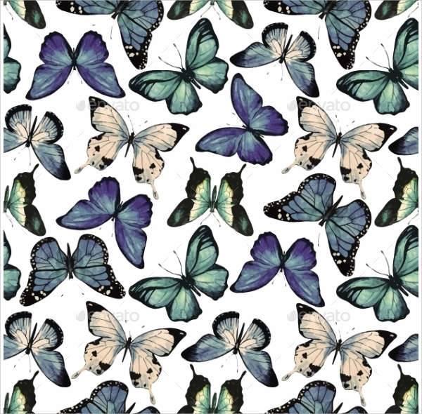 watercolor butterfly patterns