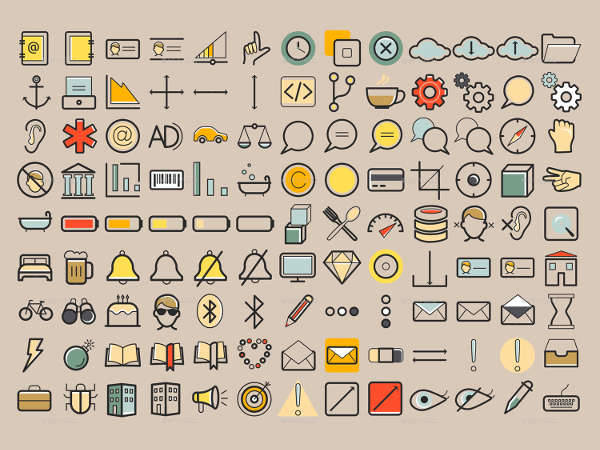 web application icons
