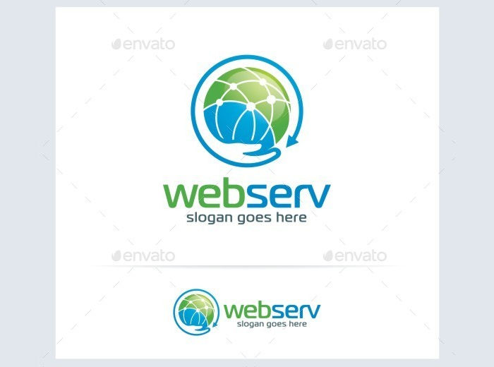 web networking service logo