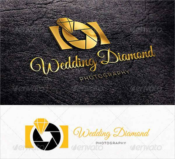 Wedding Diamond Photography Logo