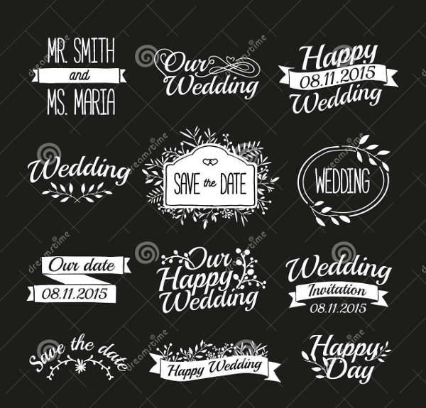Wedding Labels Logo Design