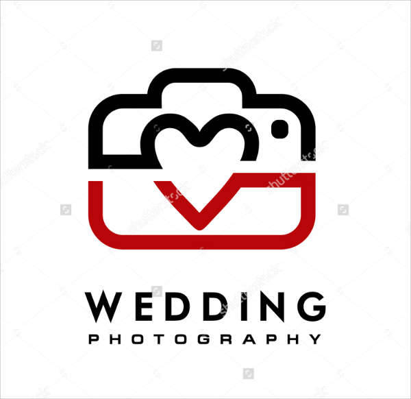Wedding & Love Photography Logo