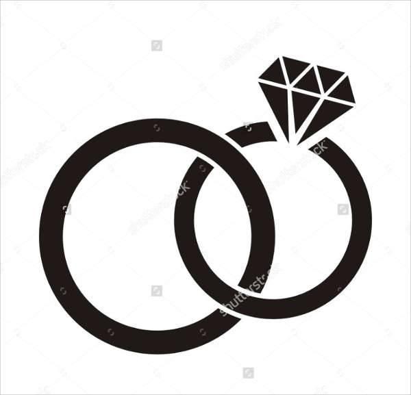 wedding ring icons
