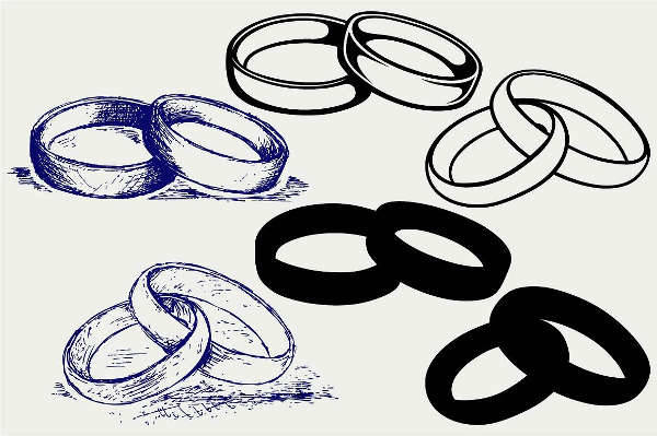 Wedding Ring Illustration