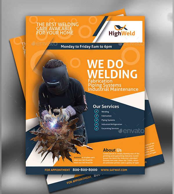 Welding Services Flyer Design
