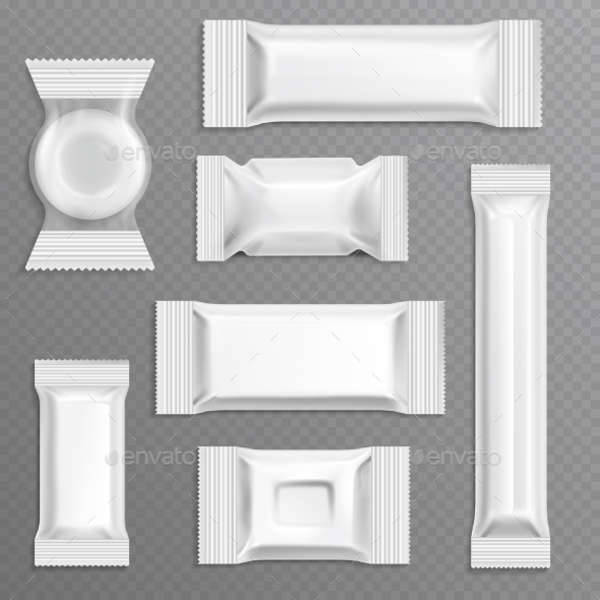 white candy wrapper template
