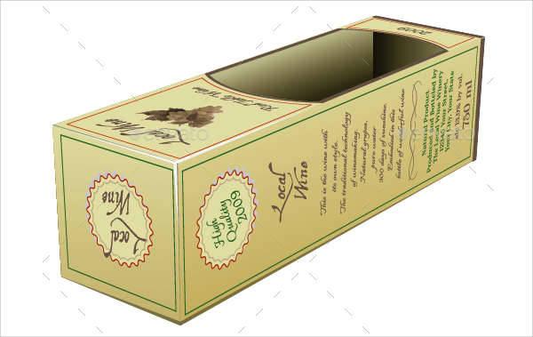 Wine Packaging Label
