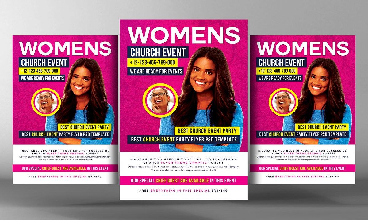 Women Church Flyer