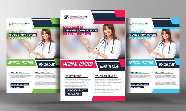 Women Health Care Flyer