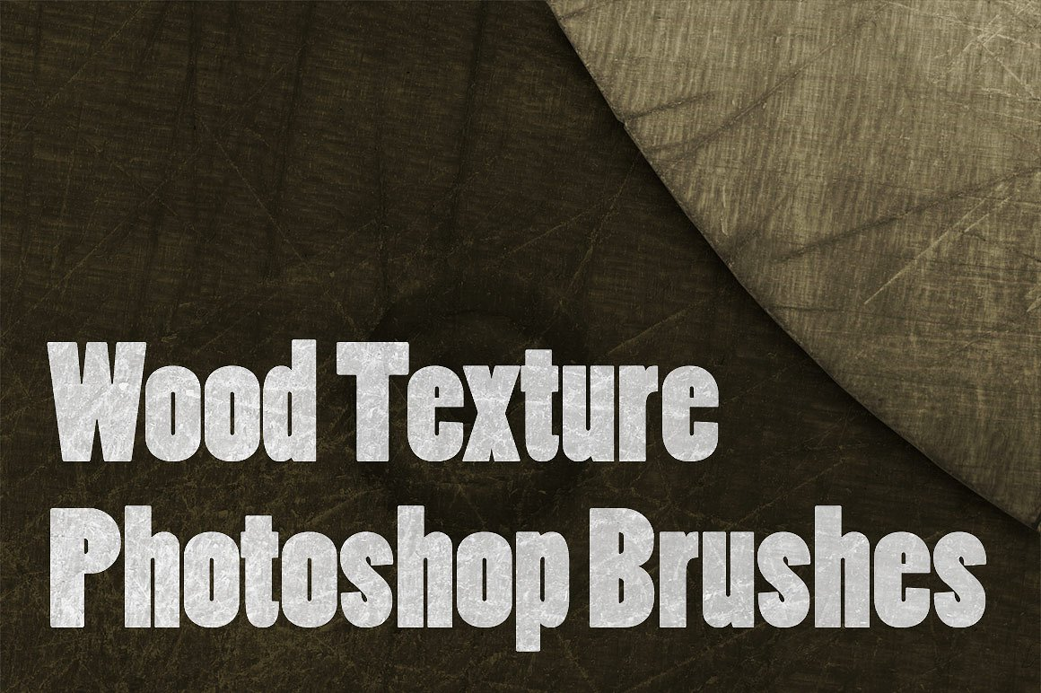 wood texture brushes