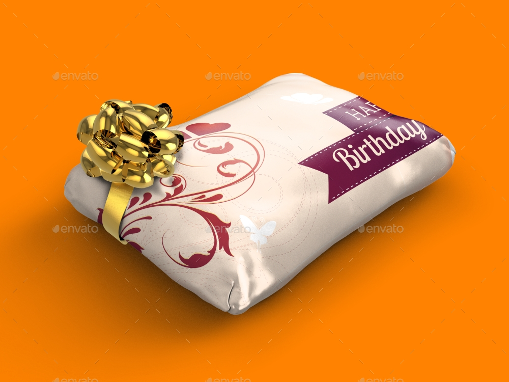 wrapped gift packaging
