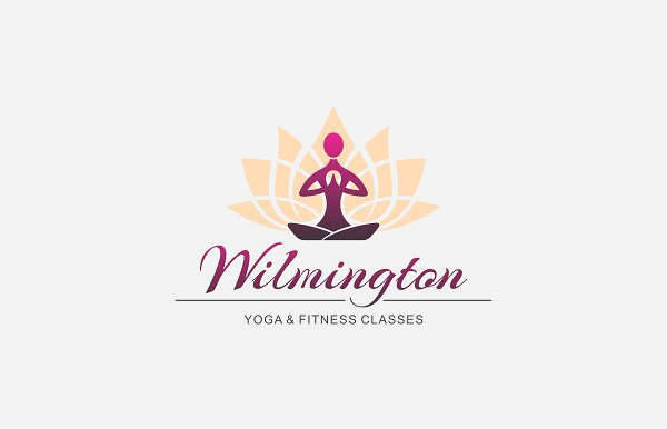 Yoga Fitness Logo Vector