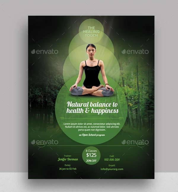 Yoga & Health Flyer