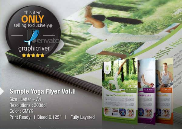 Yoga & Spa Flyer