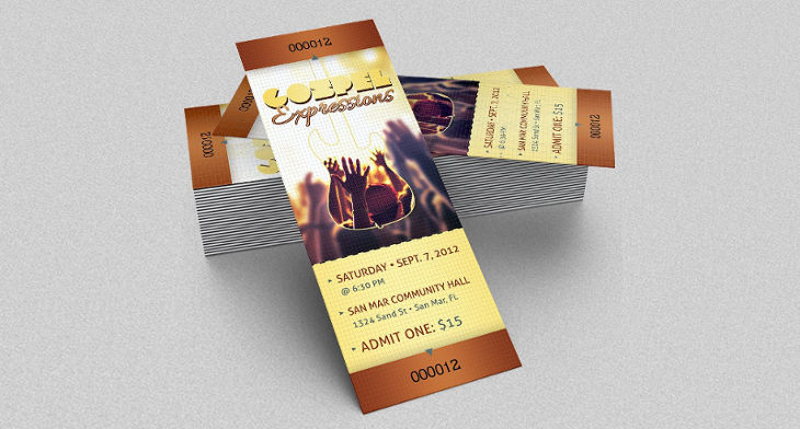 15 concert ticket templates design trends premium psd vector