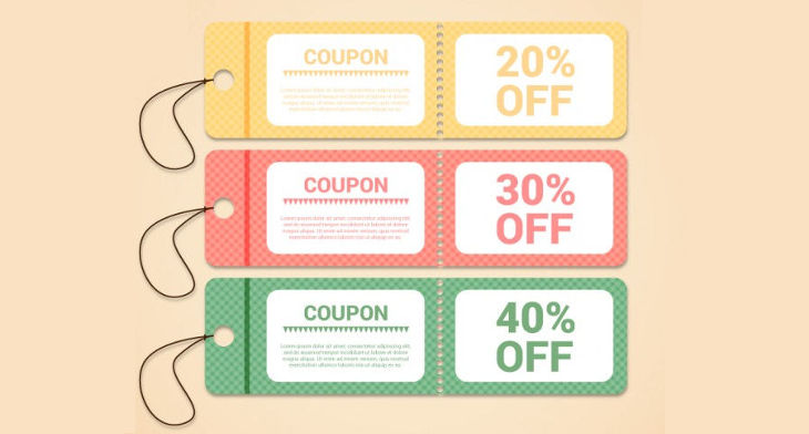 12 vintage coupon designs psd ai word design trends premium