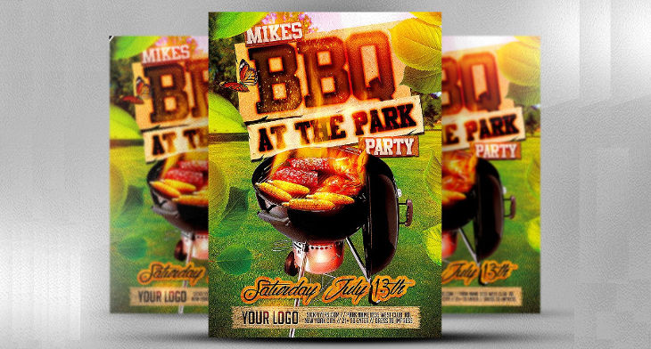 10 bbq flyer designs design trends premium psd vector downloads