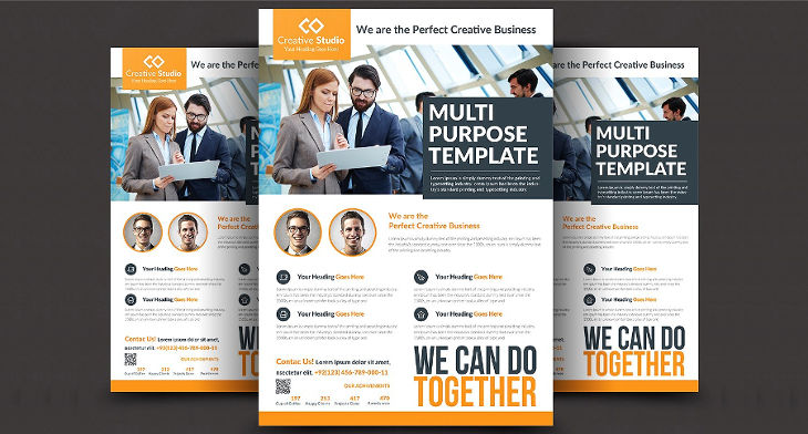 16 corporate flyer designs psd ai indesign design trends