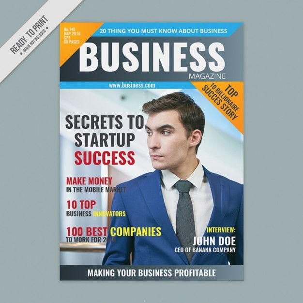 advertising magazine cover design