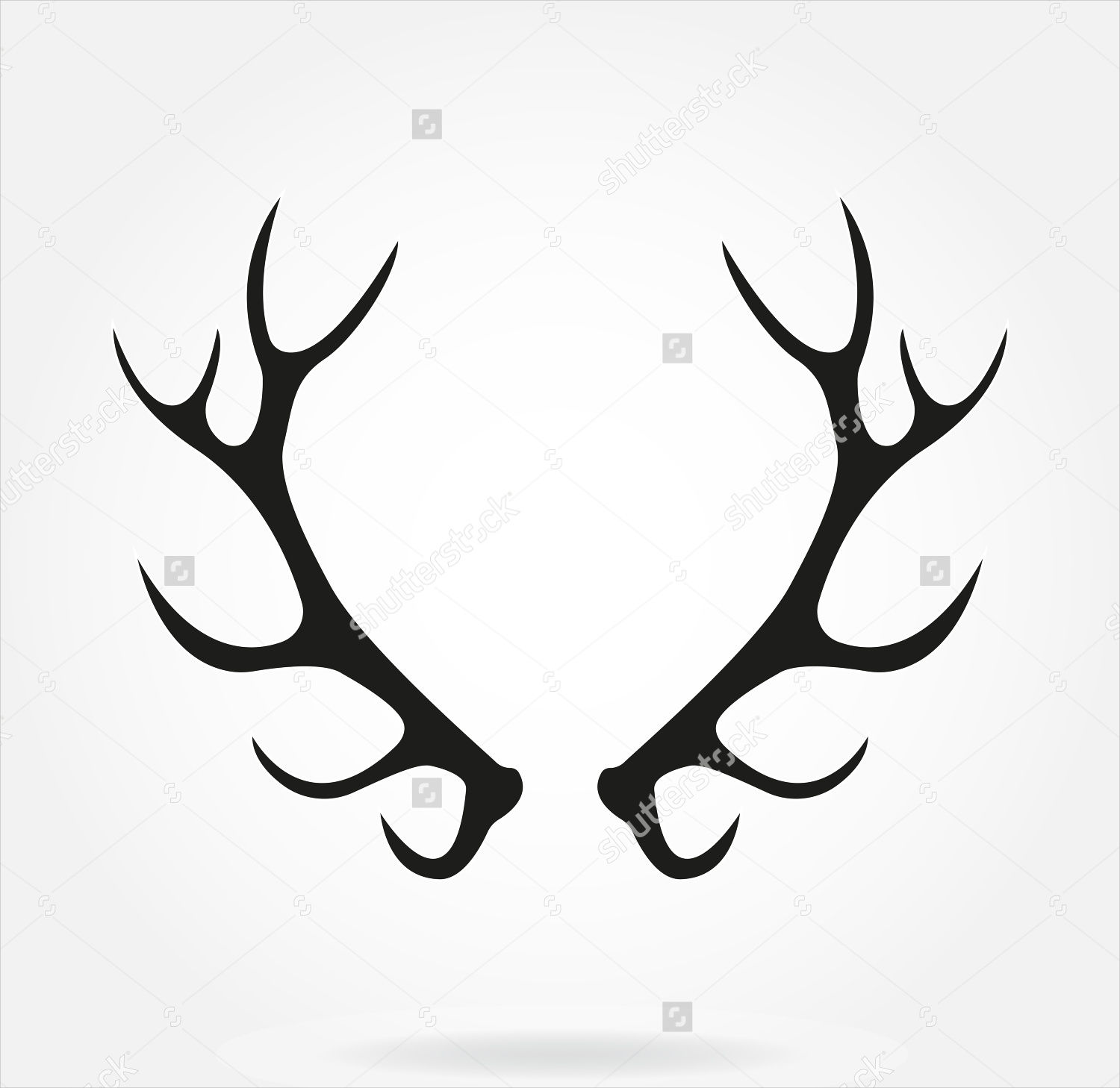 Antler Silhouette Images - Reverse Search