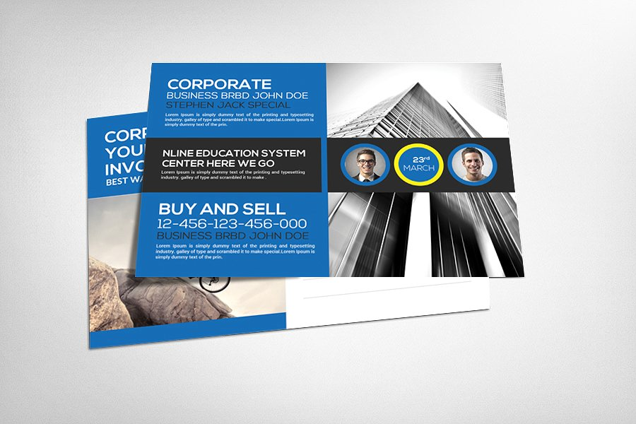 promotional postcard templates