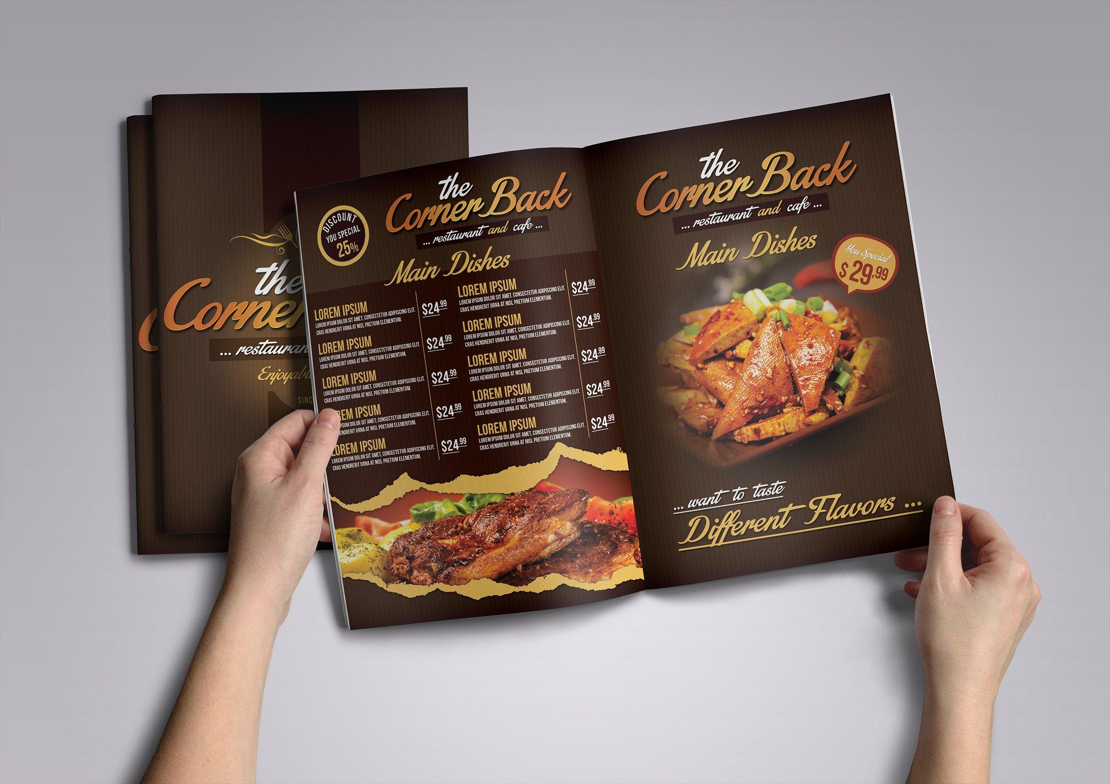 cafe menu pack1