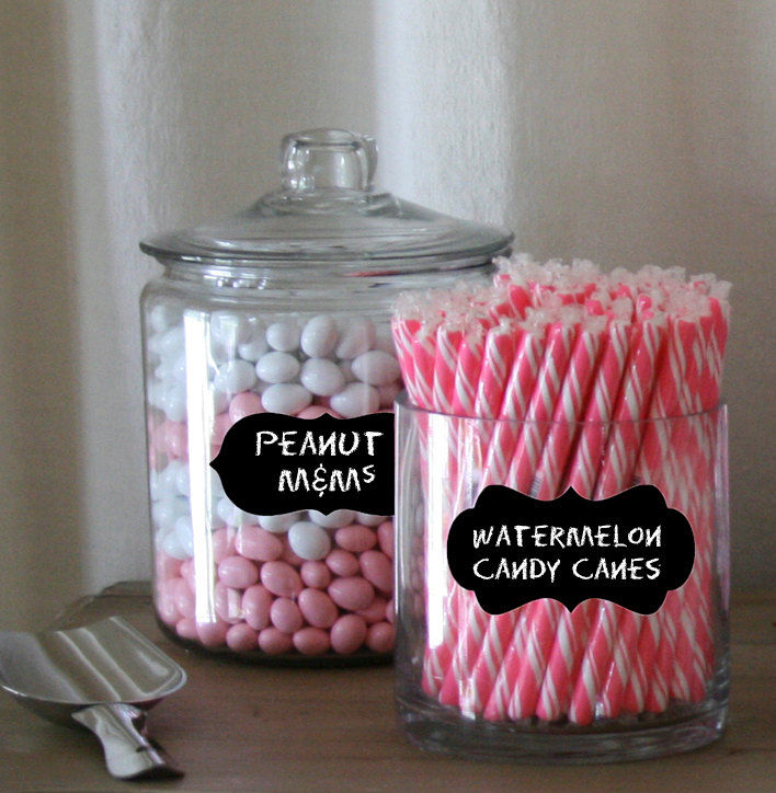 Candy Jar Label