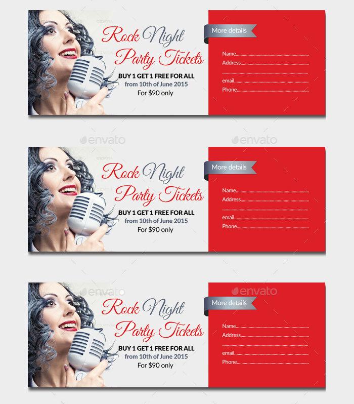 Concert Party Ticket