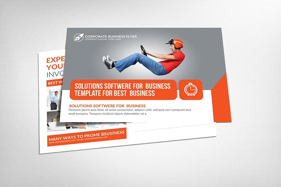 corporate business postcard2