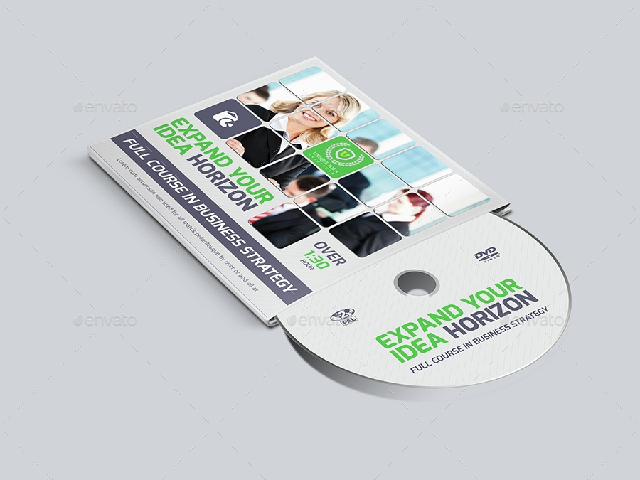 Corporate CD / DVD Cover and Label
