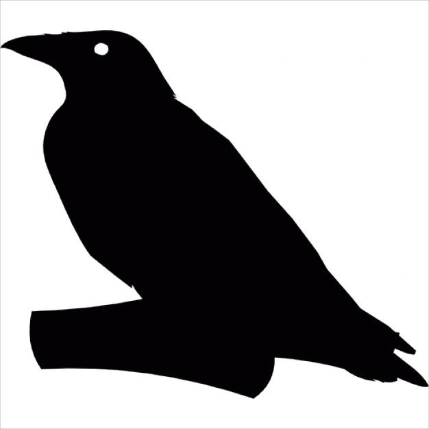 Crow Icon Silhouette