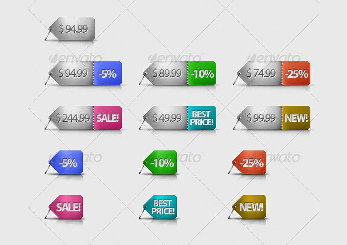 e commerce price tag