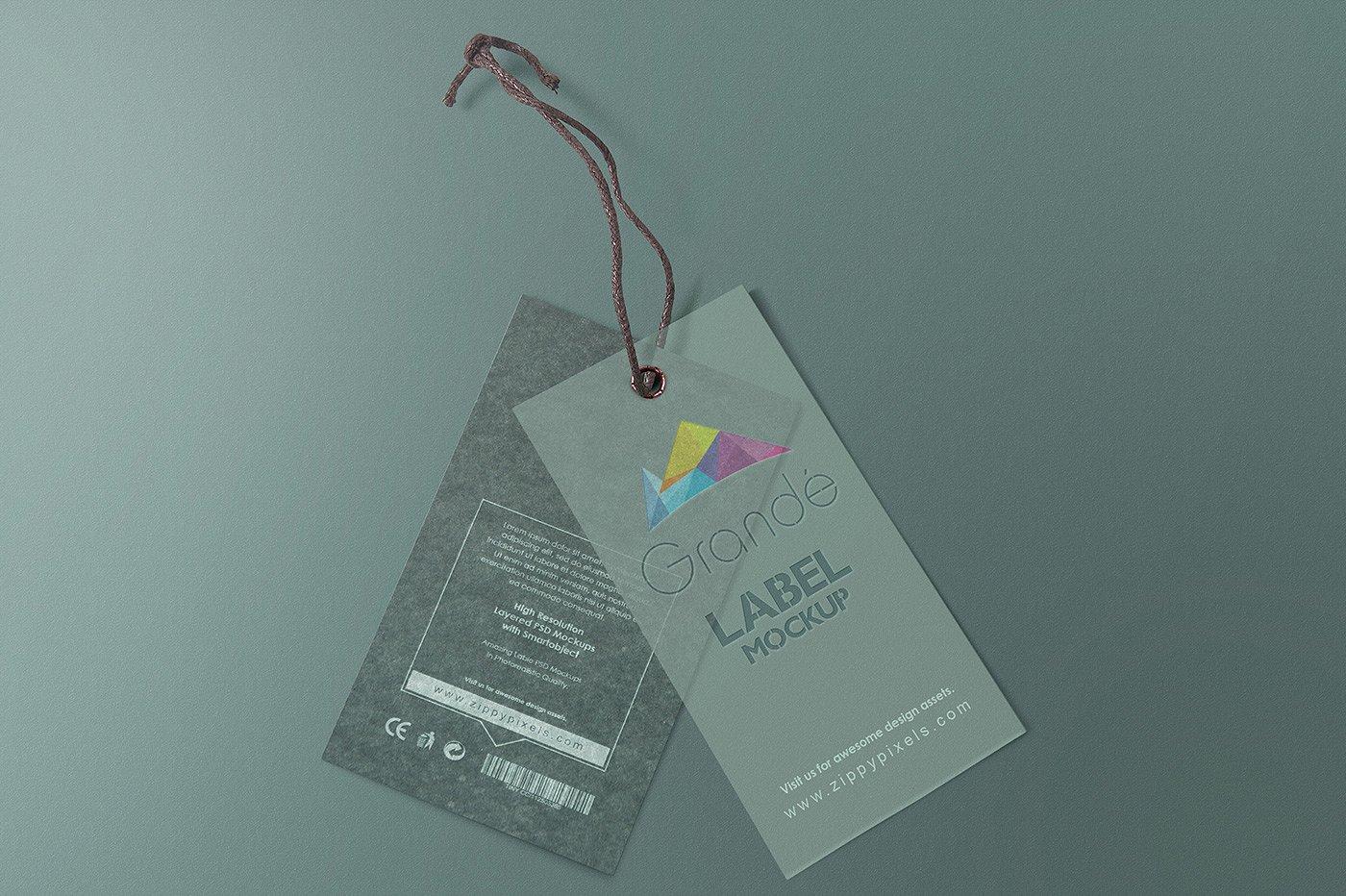 Fashion Label Tags