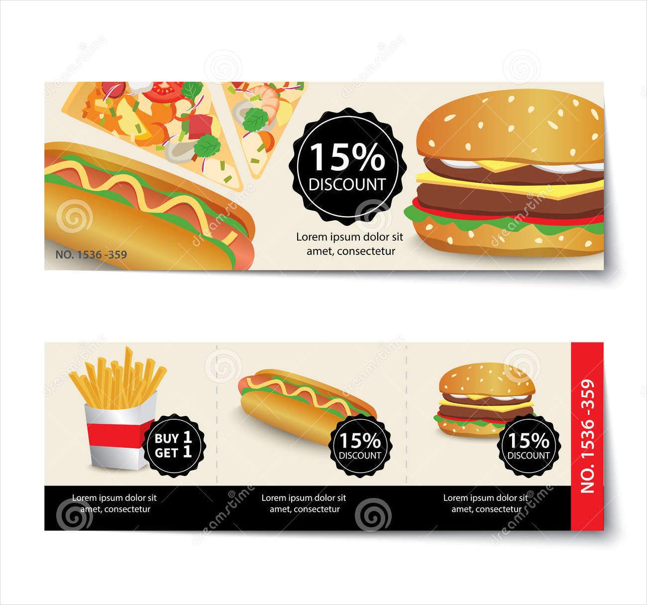Food Discount Voucher