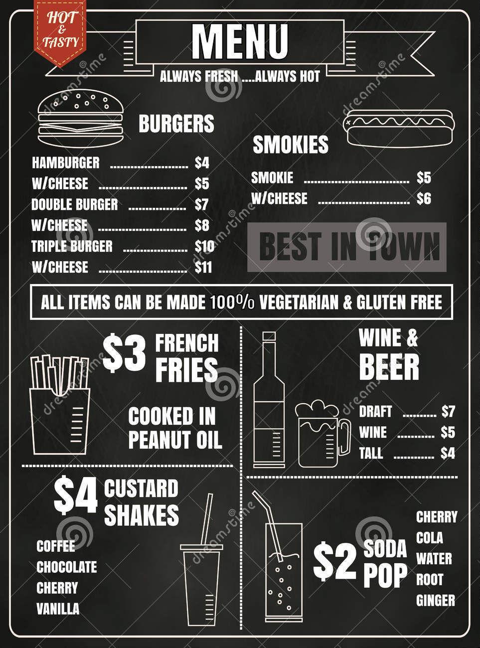 food drink menu1