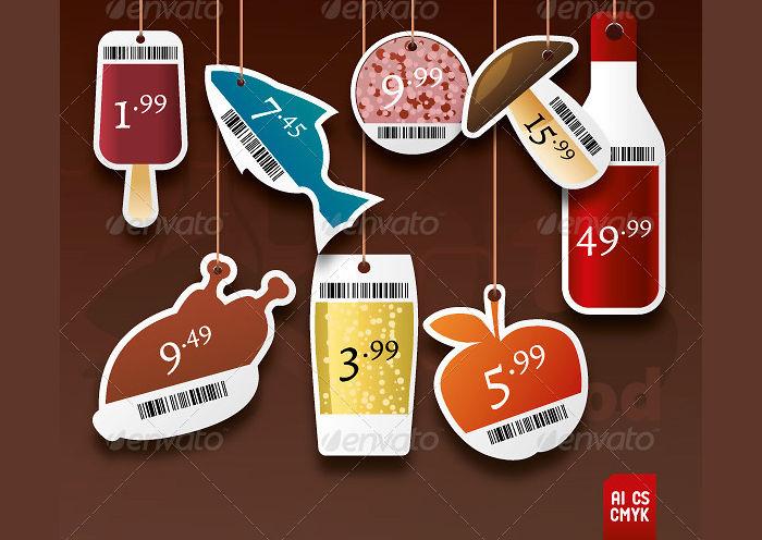 food price tags