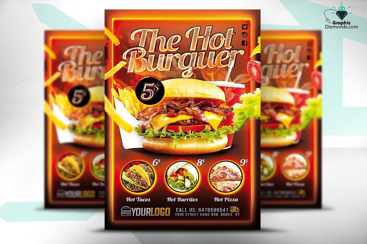 Food Promotion Flyer Design