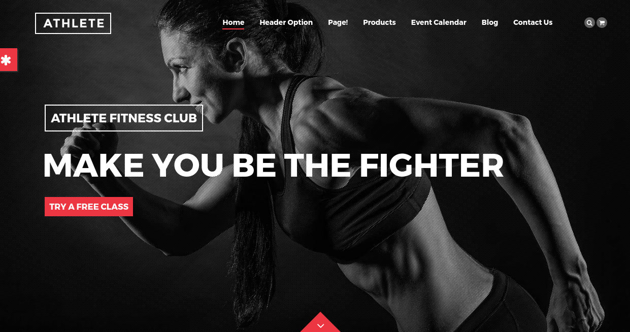 Fully Functional Fitness WordPress