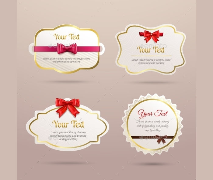 Gift Labels Set