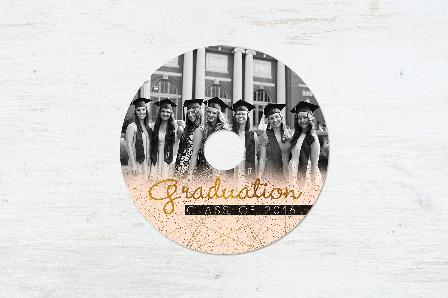 Graduation Day CD Label Template