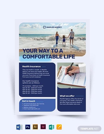 insurance agency flyer1