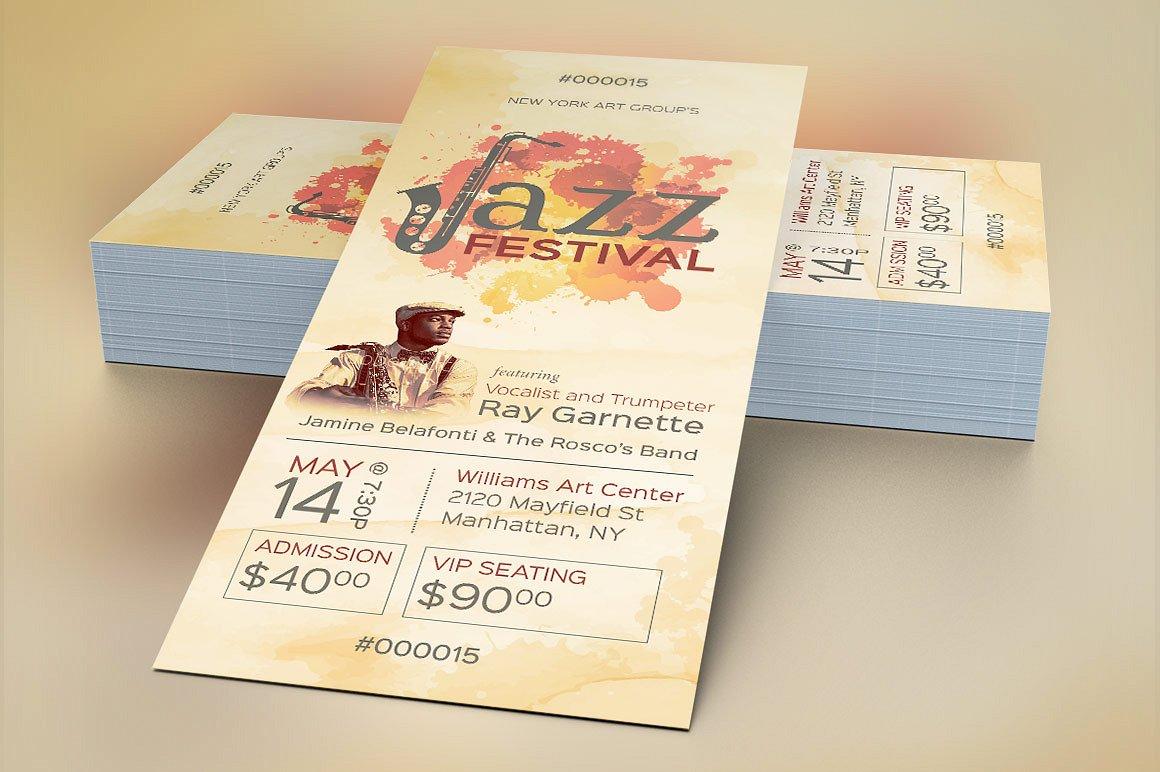 Jazz Event Ticket