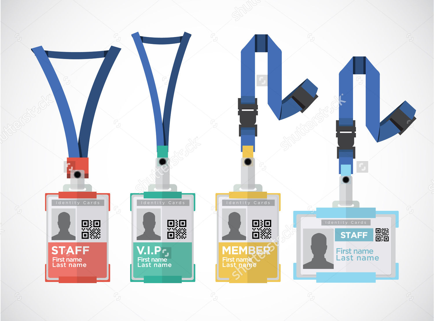 lanyard name tag badge design - Name Tag Design Ideas