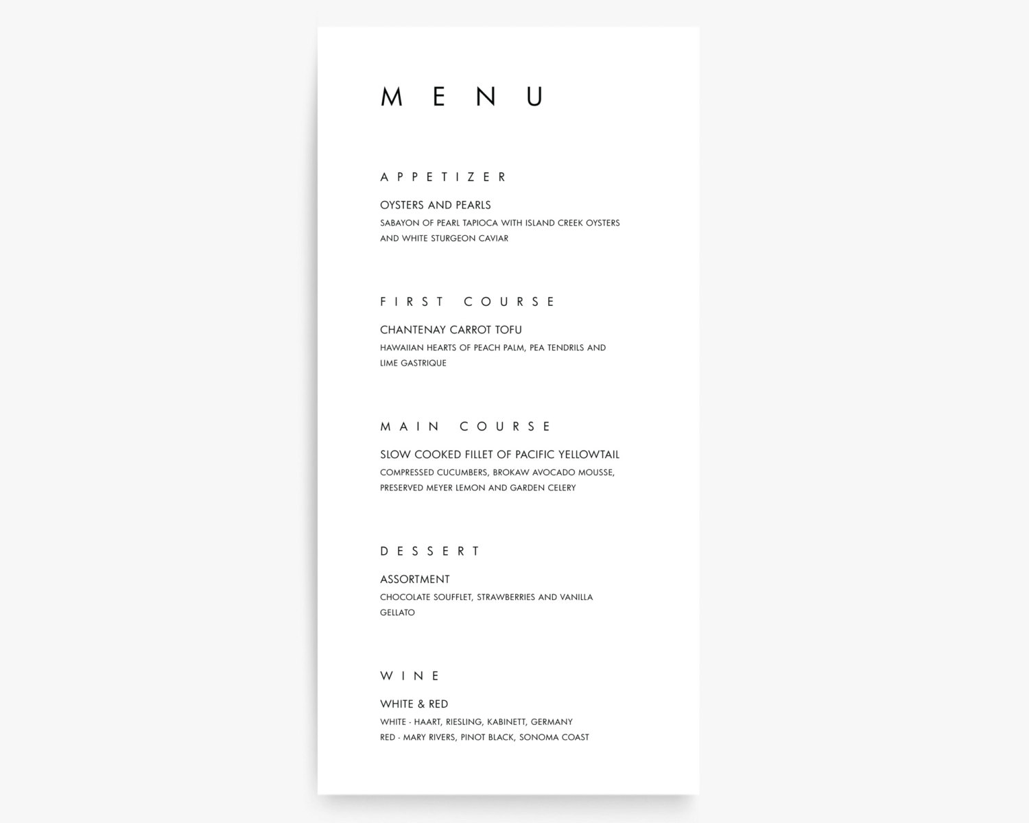 16 modern menu designs design trends premium psd for Menue templates