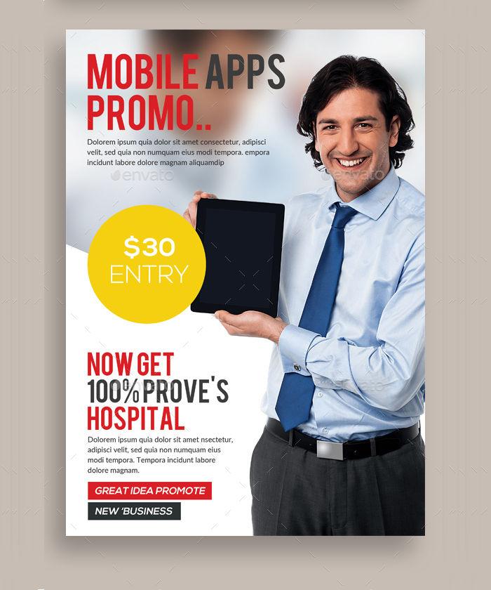 PSD App Promotion Flyer