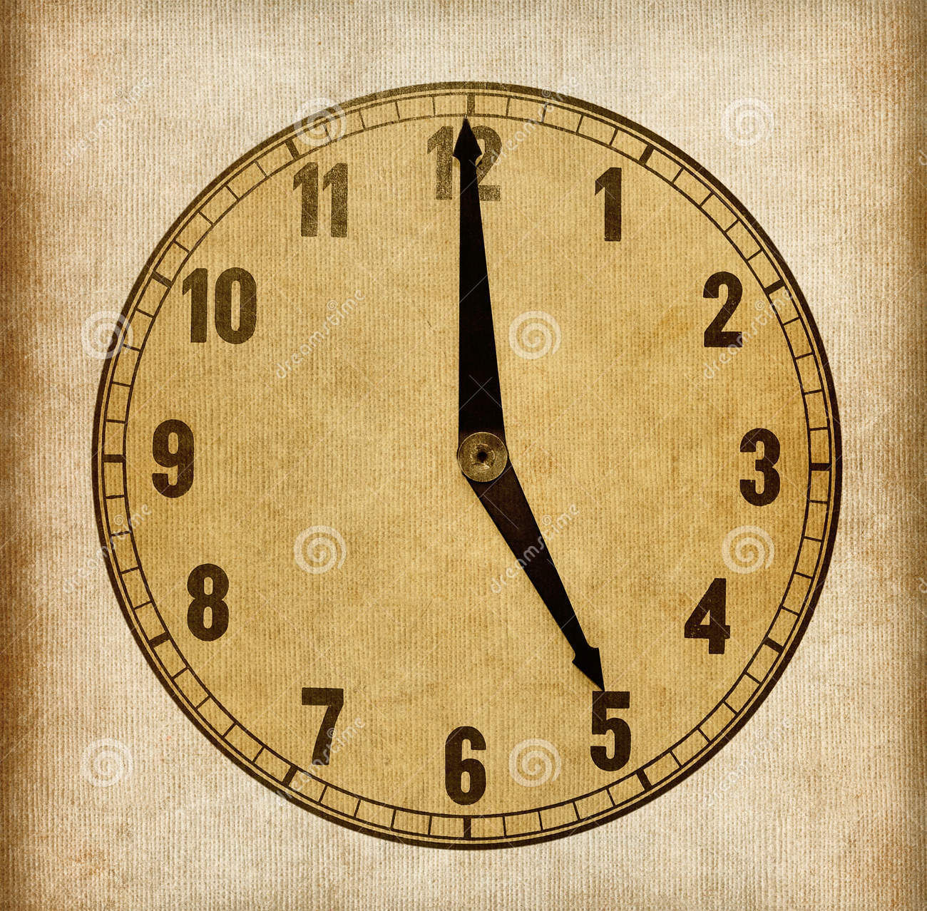 paper clock face template1