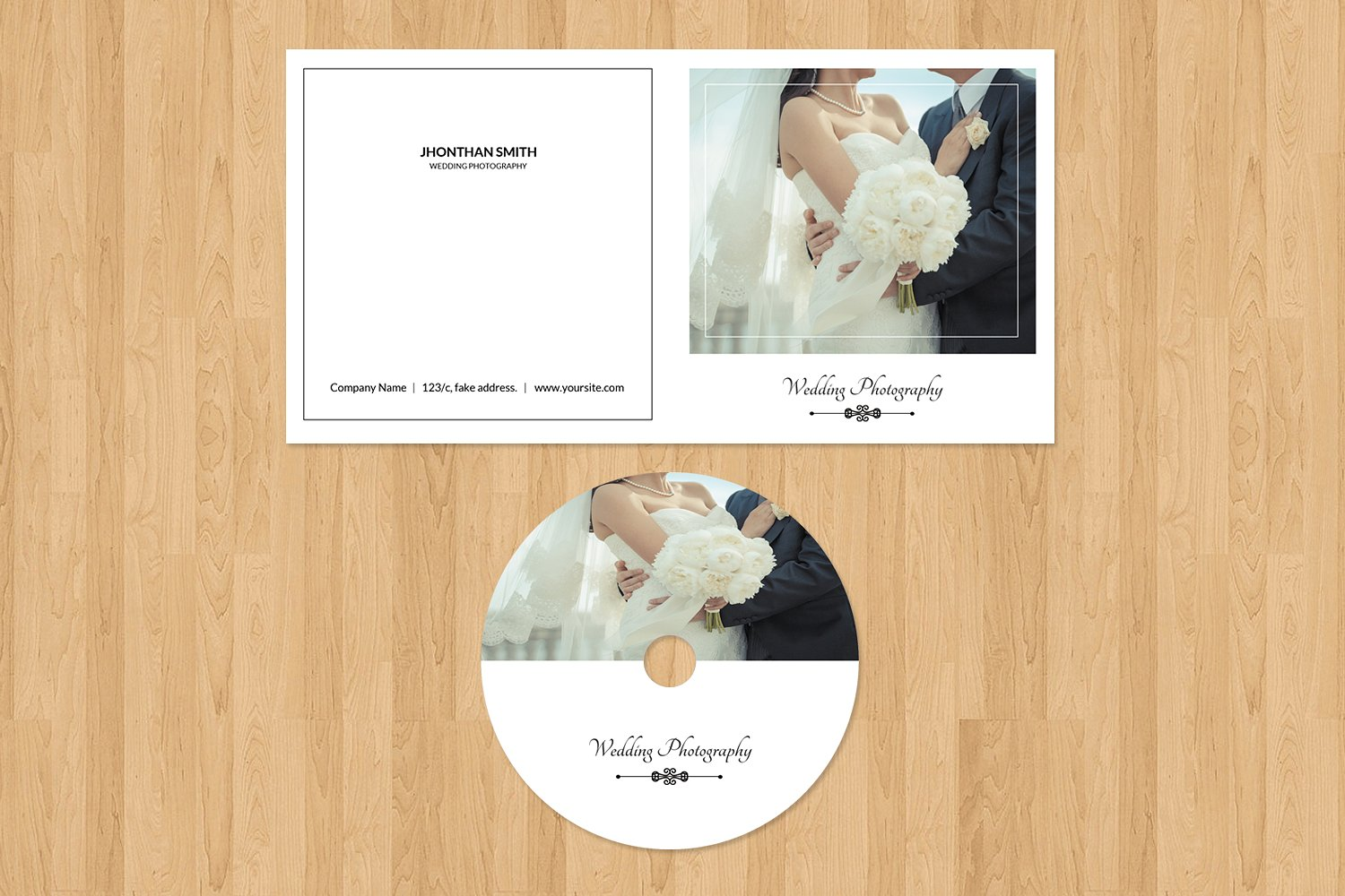 Photographer Cd Label & Cover